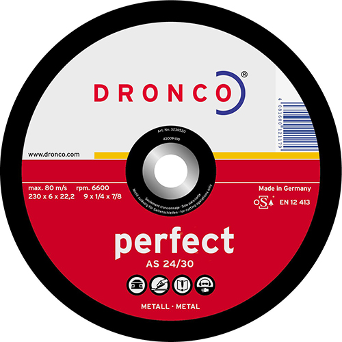 Disco de corte A 24/A 30 P Perfect-metal