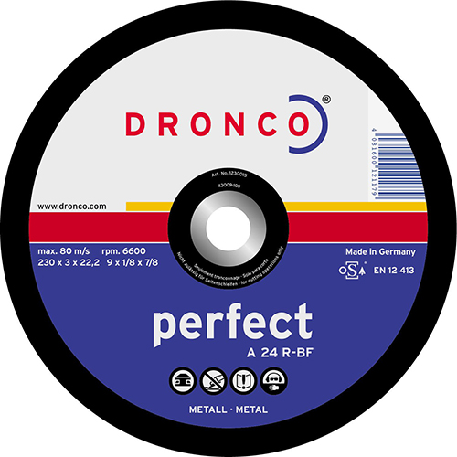 Disco de corte A 24 R Perfect-metal