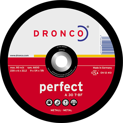 Disco de corte A 30 T Perfect-metal