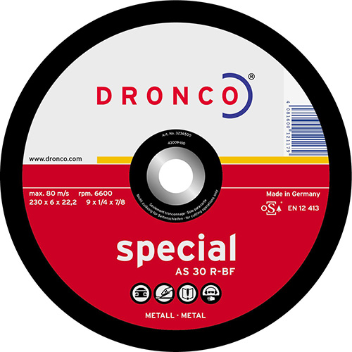 Disco de corte AS 30 R Special-metal