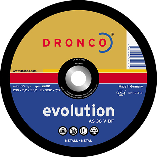 Disco de corte AS 36 V Evolution