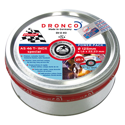 Pack de discos de corte AS 46 T INOX Special Express LIFETIME PLUS