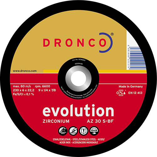 Disco de corte AZ 30 S Evolution-metal